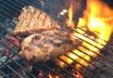 Mike's Knob Creek Bourbon-Grilled Salmon