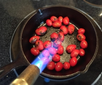 Blackening Cherry Tomatoes | Culinary Compost