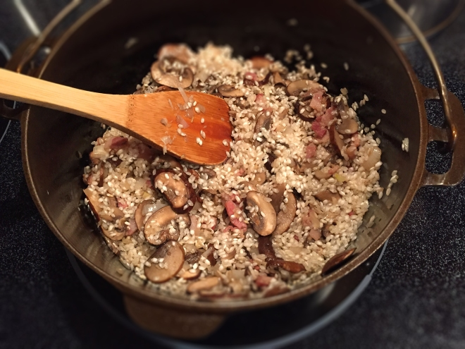 Creamy Mushroom Risotto | Culinary Compost Recipes