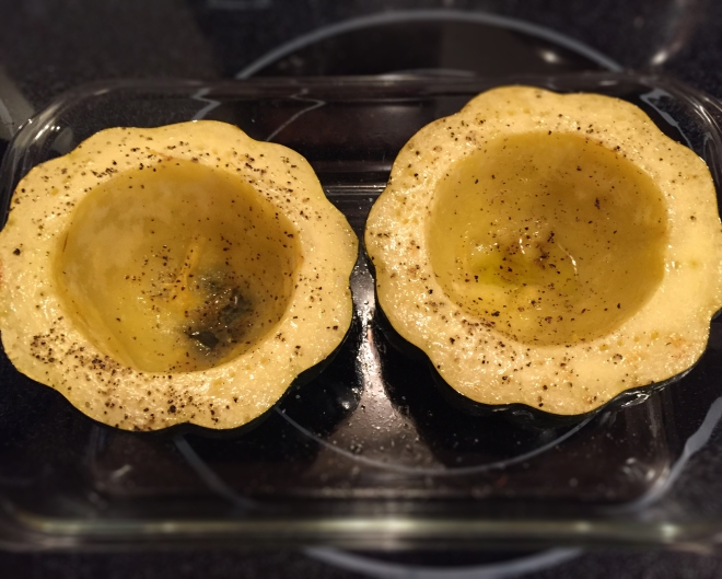 Roasted and Stuffed Italian Acorn Squash | Culinary Compost Recipes