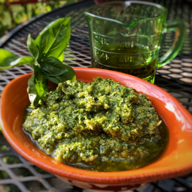 Italian Garden Pesto | Culinary Compost Recipes